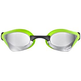 arena Cobra Core Mirror Goggles silver-green